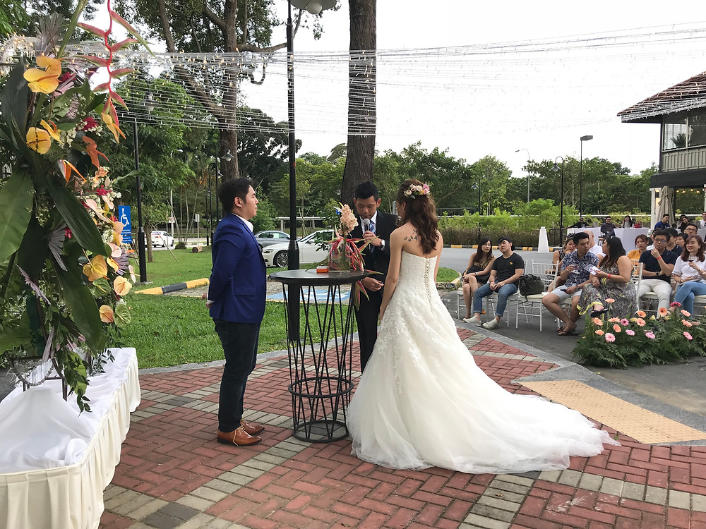 Emcee Singapore - Ainsley Chong, The Summerhouse Wedding Fair 2018