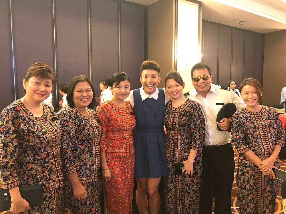 Emcee Singapore - Ainsley Chong, OCBC Group Audit Dinner & Dance 2017