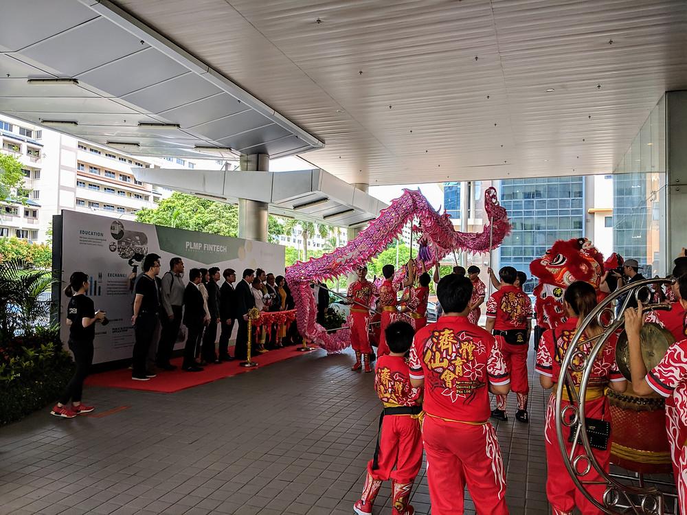 Emcee Singapore - Ainsley Chong, PLMP Fintech 1st Year Anniversary