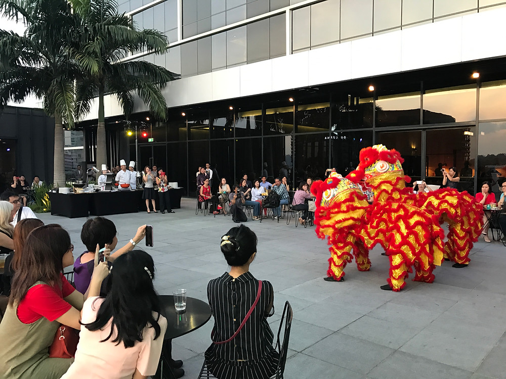 Emcee Singapore - Ainsley Chong, Park Hotel Alexandra Lunar New Year Celebration