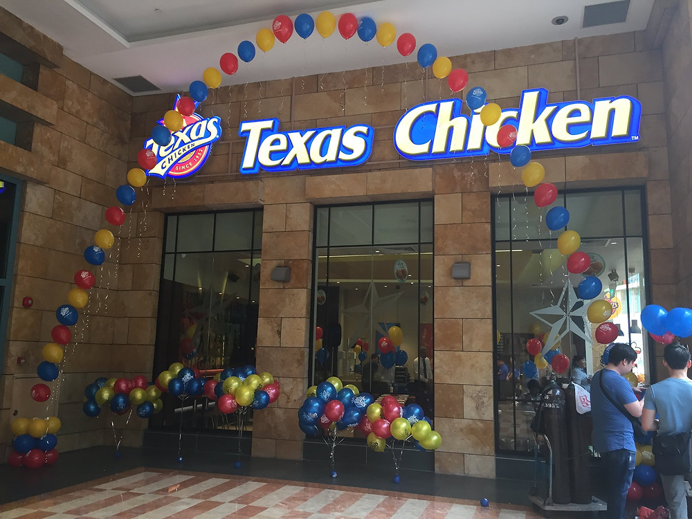Emcee Singapore - Ainsley Chong, Opening of Texas Chicken's 500th International Restaurant 2
