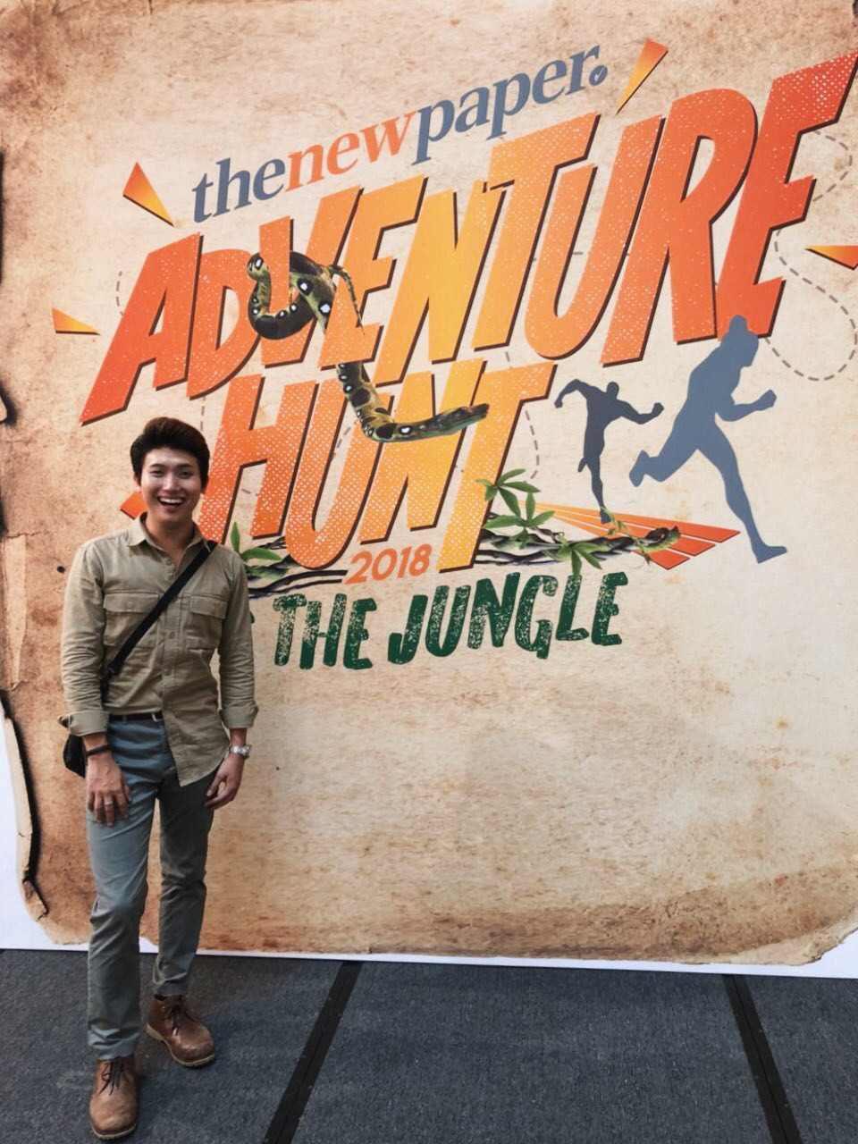 Emcee Singapore - Ainsley Chong, The New Paper Adventure Hunt 2018