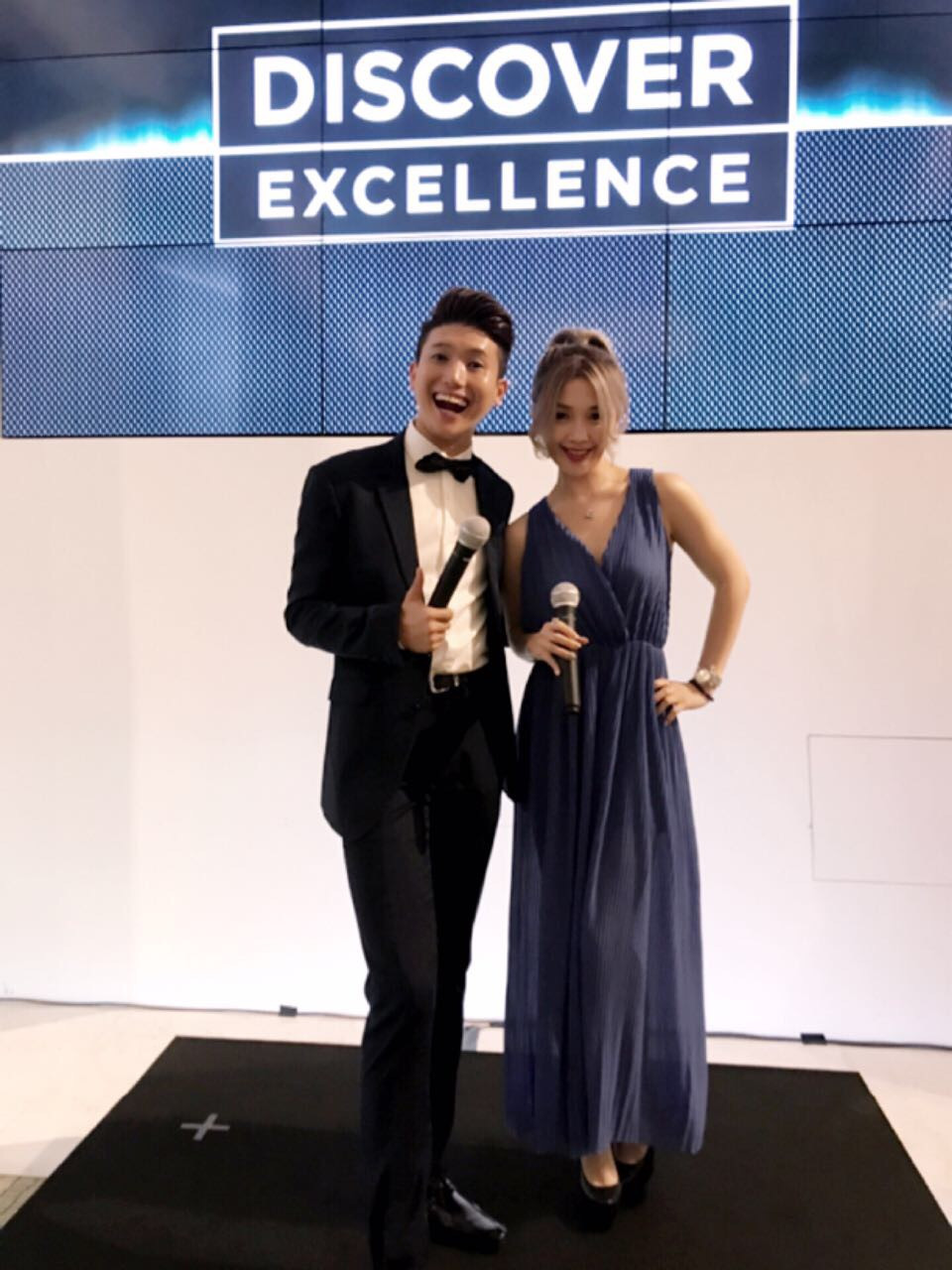 Emcee Singapore - Ainsley Chong, Dunhill Discover Excellence Product Launch