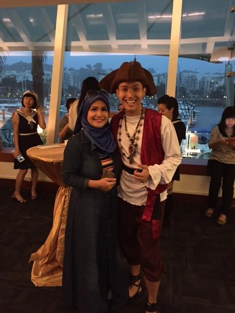 Emcee Singapore - Ainsley Chong, Globecast Dinner & Dance 2016