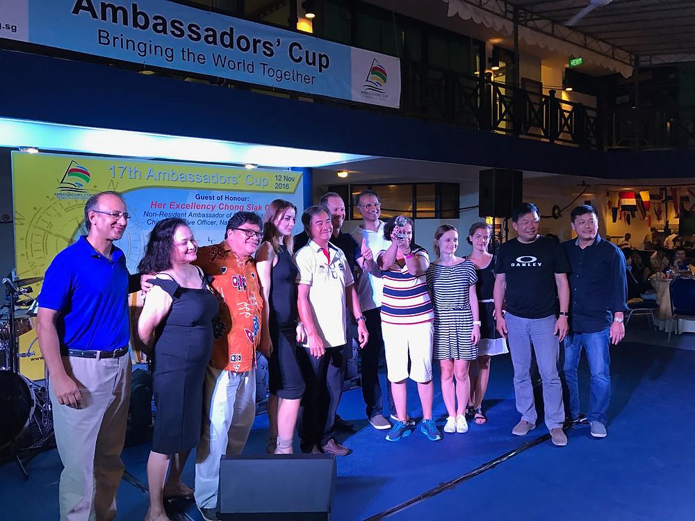 Emcee Singapore - Ainsley Chong, Changi Sailing 17th Ambassadors' Cup 2016 4