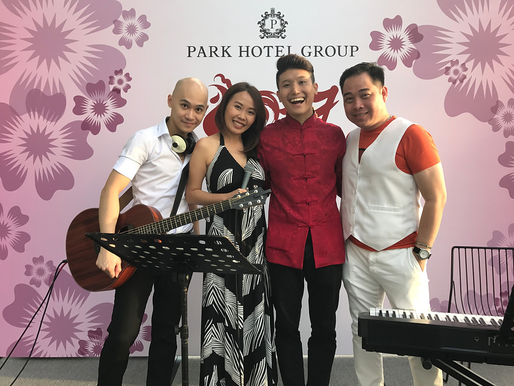 Emcee Singapore - Ainsley Chong, Park Hotel Group Lunar New Year Celebration