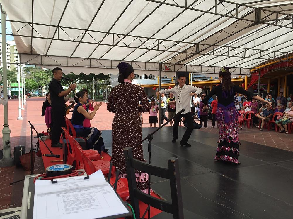Emcee Singapore - Ainsley Chong, Bedok Kaleidoscope - Flamenco Sin Fronteras