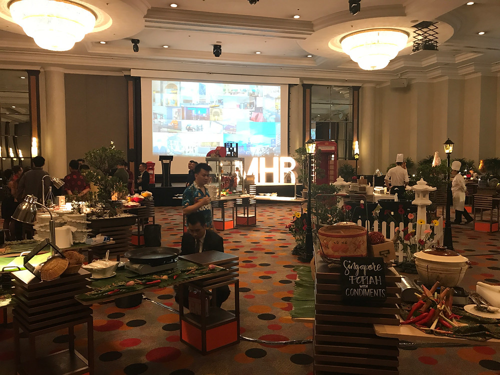 Emcee Singapore - Ainsley Chong, Millennium Hotels & Resorts Showcase - Day 1: MICE and Travel Agents Day 2: Corporate Clients