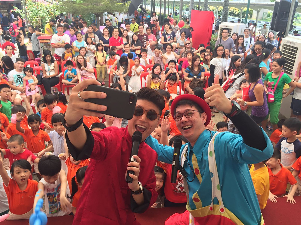 Emcee Singapore - Ainsley Chong, Sengkang West Zone D RC Lunar New Year Celebration 2017