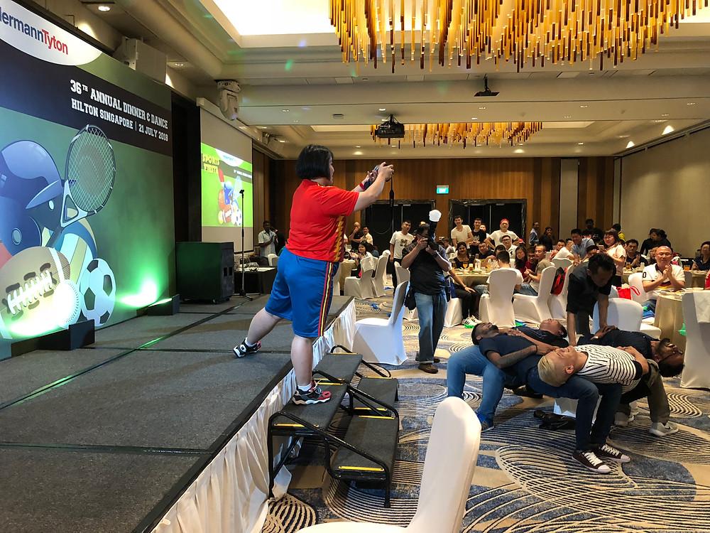 Emcee Singapore - Ainsley Chong, HellermannTyton Dinner & Dance 2018