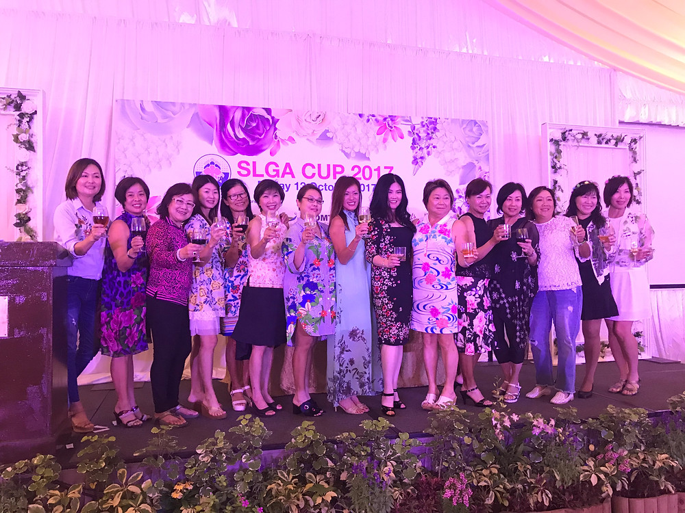 Emcee Singapore - Ainsley Chong, Singapore Ladies Golf Association (SLGA) Cup 2017 Dinner