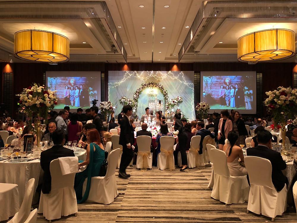 Emcee Singapore - Ainsley Chong, Wedding Dinner of Ronald Low and Sarah Tan