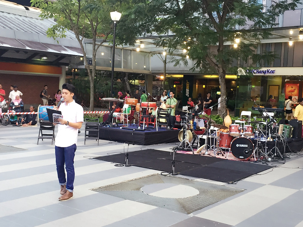 Emcee Singapore - Ainsley Chong, National Arts Council Presents Arts in Your Neighbourhood