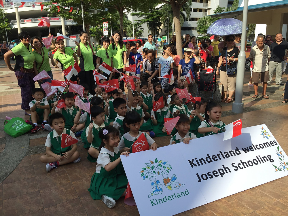 Emcee Singapore - Ainsley Chong, Joseph Schooling's Victory Parade 1