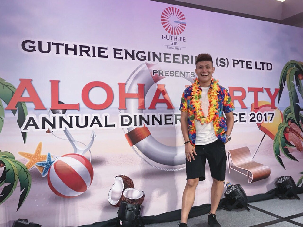 Emcee Singapore - Ainsley Chong, Guthrie Engineering Annual Dinner & Dance 2017