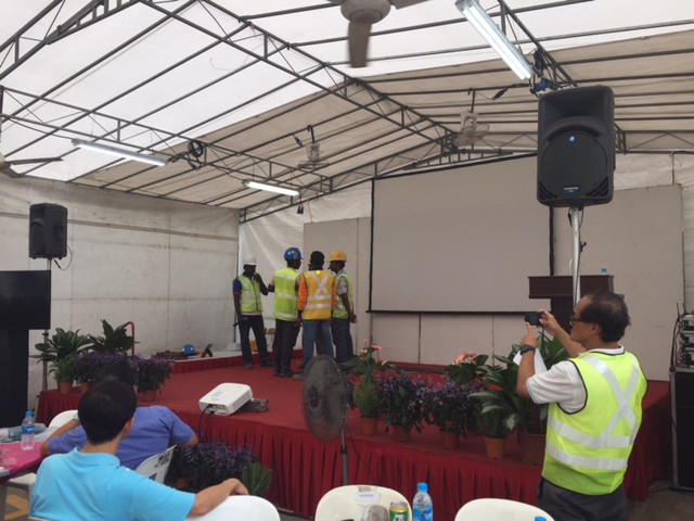 Emcee Singapore - Ainsley Chong, SSJV Annual Safety Campaign
