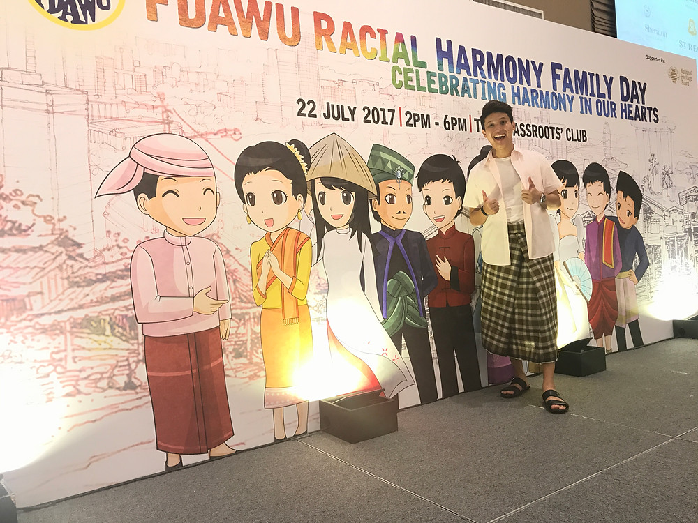 Emcee Singapore - Ainsley Chong, FDAWU Racial Harmony Family Day 2017