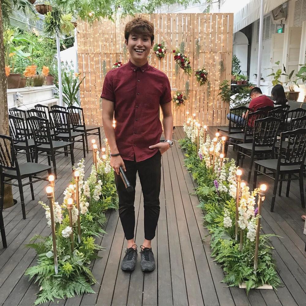 Emcee Singapore - Ainsley Chong, Botanico Amor Wedding Fair 2018