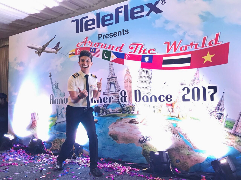 Emcee Singapore - Ainsley Chong, Teleflex Dinner & Dance 2017