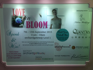 Love in Bloom Bridal Gown Runway Show