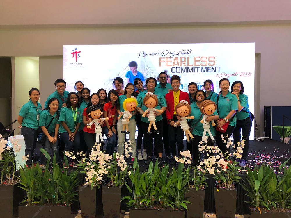 Emcee Singapore - Ainsley Chong, Tan Tock Seng Hospital Nurses Day 2018
