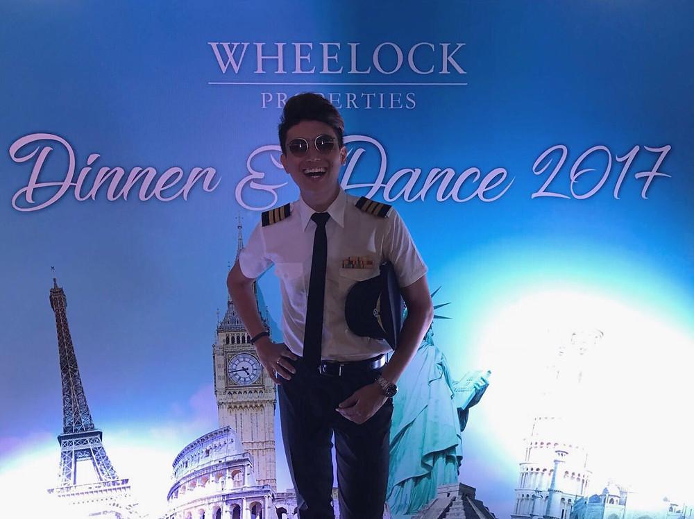 Emcee Singapore - Ainsley Chong, Wheelock Properties Dinner & Dance 2017