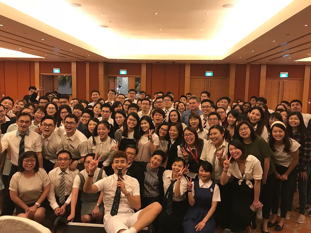 Emcee Singapore - Ainsley Chong, Resorts World Sentosa Finance Department Dinner