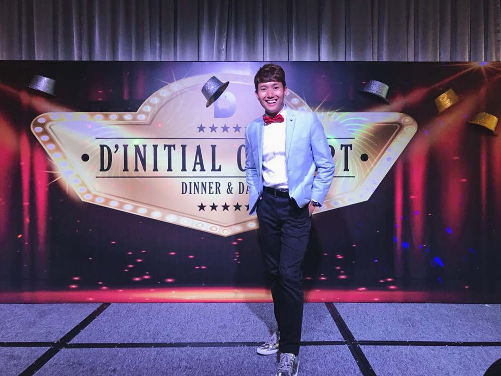 Emcee Singapore - Ainsley Chong, D' Initial Concept Dinner & Dance 2018