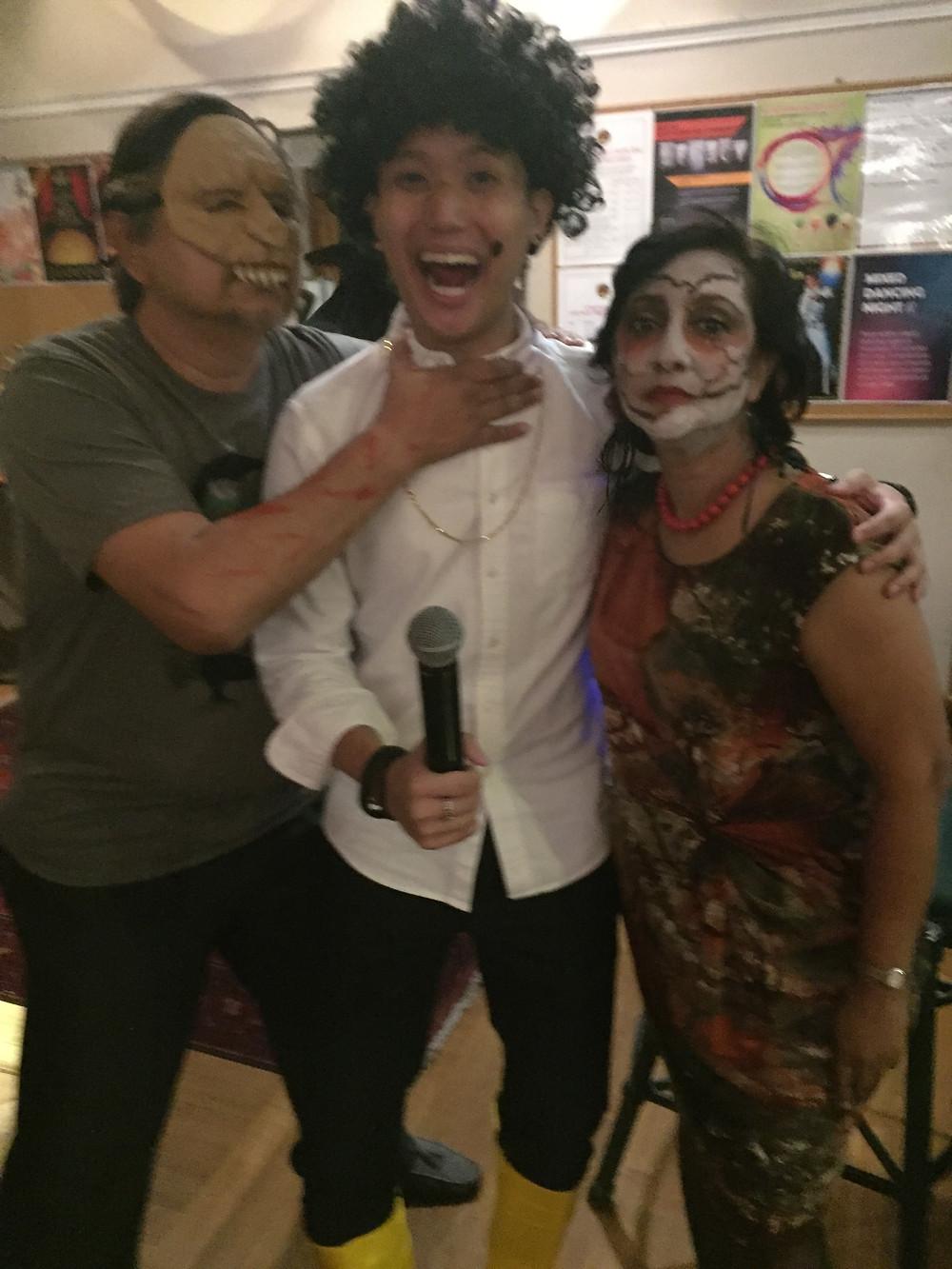 Emcee Singapore - Ainsley Chong, Singapore Recreation Club Halloween Members' Night