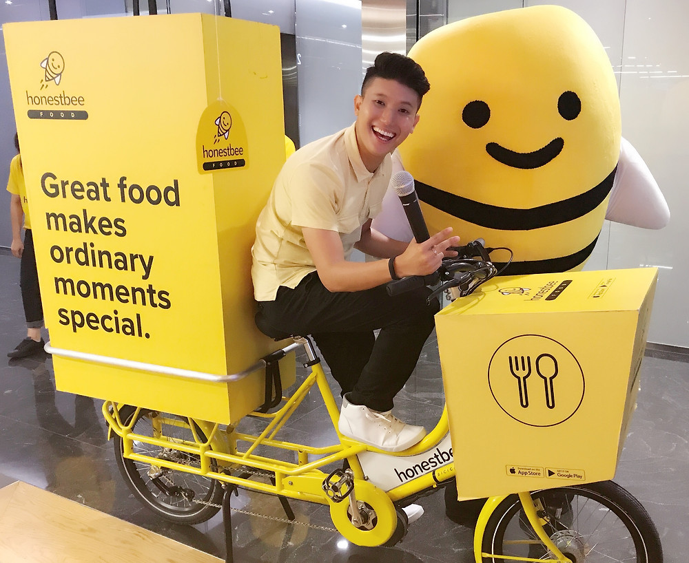 Emcee Singapore - Ainsley Chong, honestbee Office Invasion to Citibank