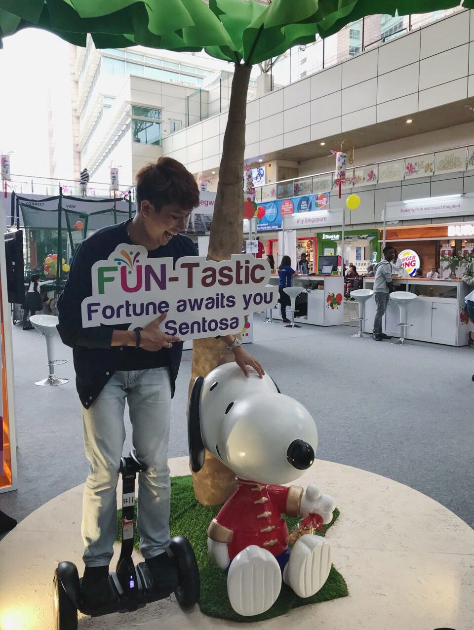 Emcee Singapore - Ainsley Chong, Sentosa The State of Fun Roadshow
