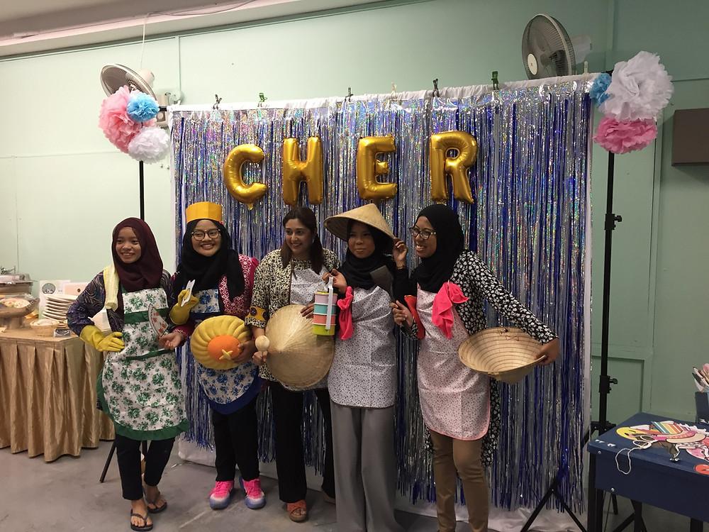 Emcee Singapore - Ainsley Chong, Junyuan Secondary School Teachers' Day Lunch 2