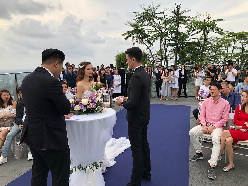 Emcee Singapore - Ainsley Chong, 1-Altitude Say I Do Wedding Fair 2018