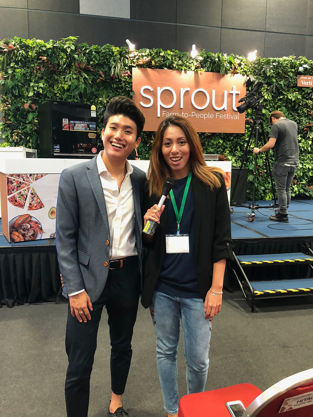 Emcee Singapore - Ainsley Chong, Sprout 2018