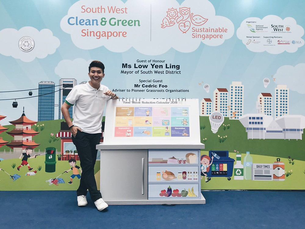 Emcee Singapore - Ainsley Chong, National Environment Agency South West Clean & Green Singapore 2017 Carnival