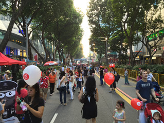 Orchard Road Pedestrian Night for Media Development Authority Singapore