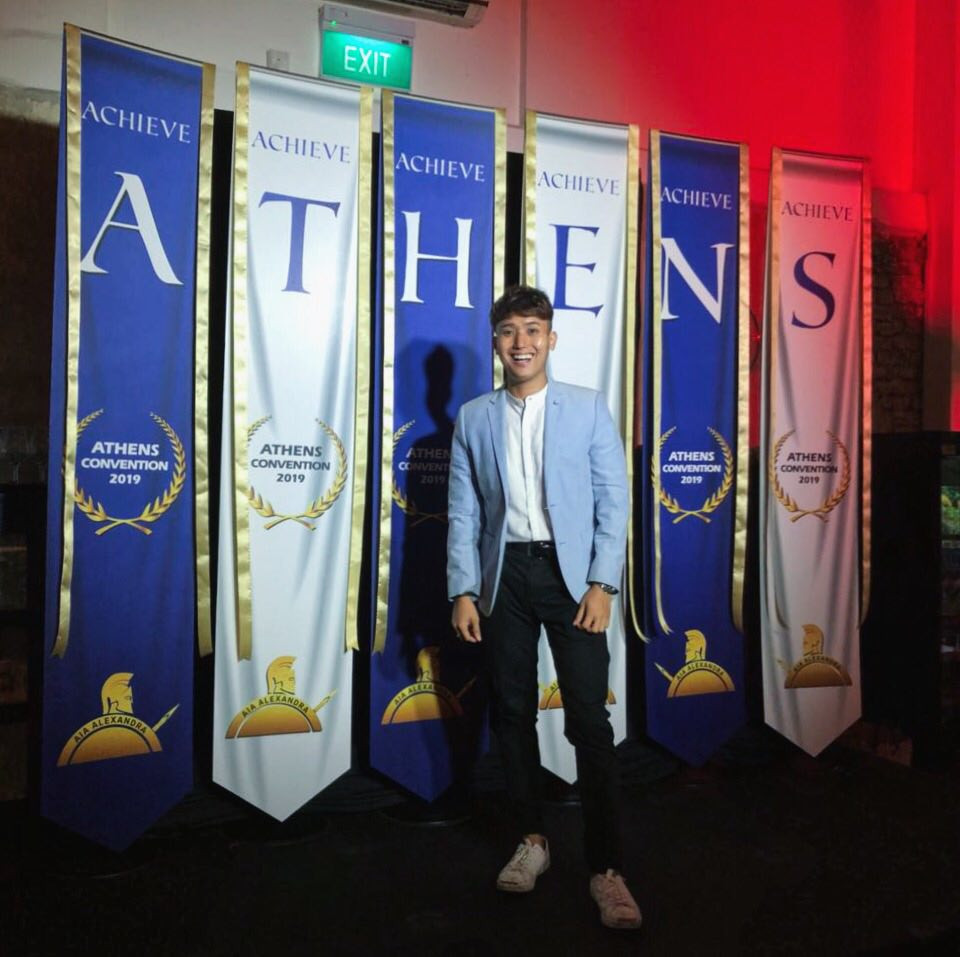 Emcee Singapore - Ainsley Chong, AIA Athens Convention Launch