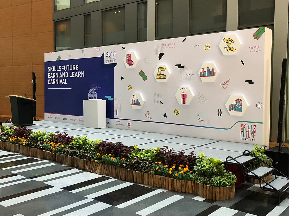 Emcee Singapore - Ainsley Chong, SkillsFuture Earn & Learn Carnival 2018