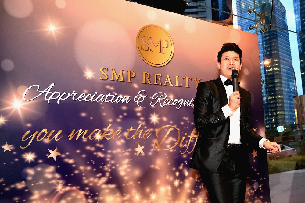 Emcee Singapore - Ainsley Chong, SMP Realty Appreciation & Recognition Night