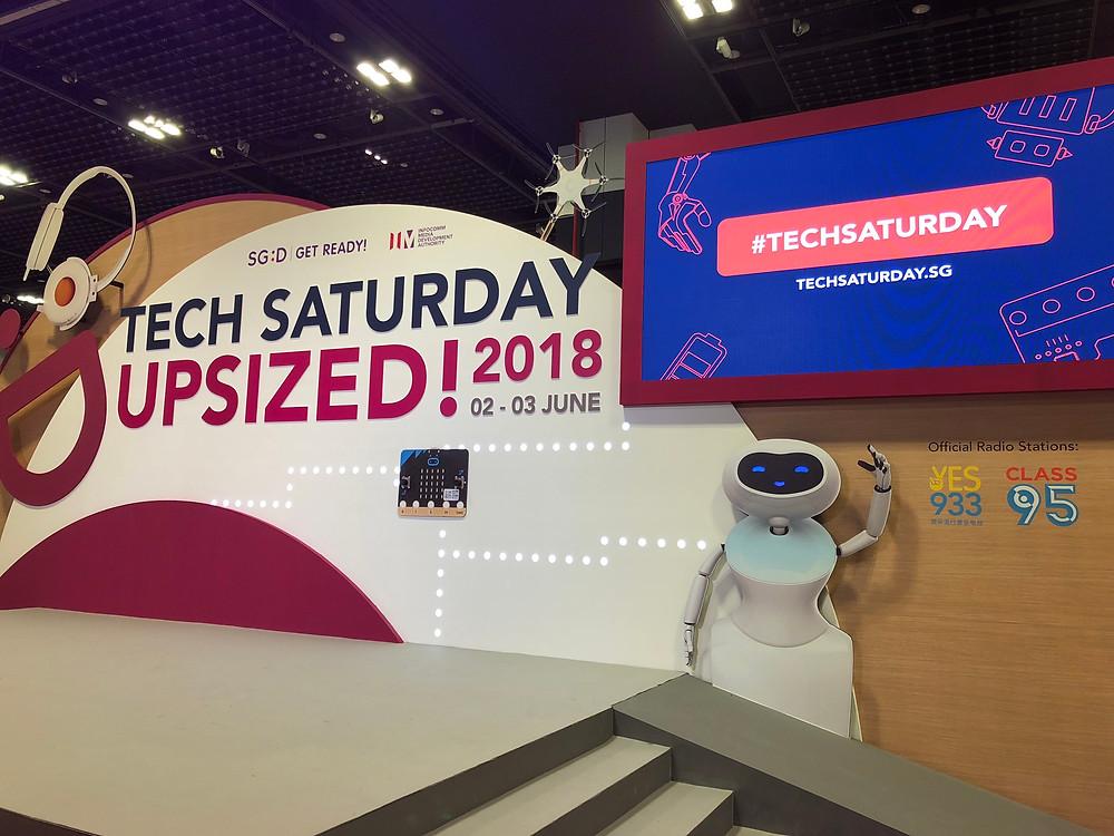 Emcee Singapore - Ainsley Chong, IMDA Tech Saturday (Upsized!) 2018