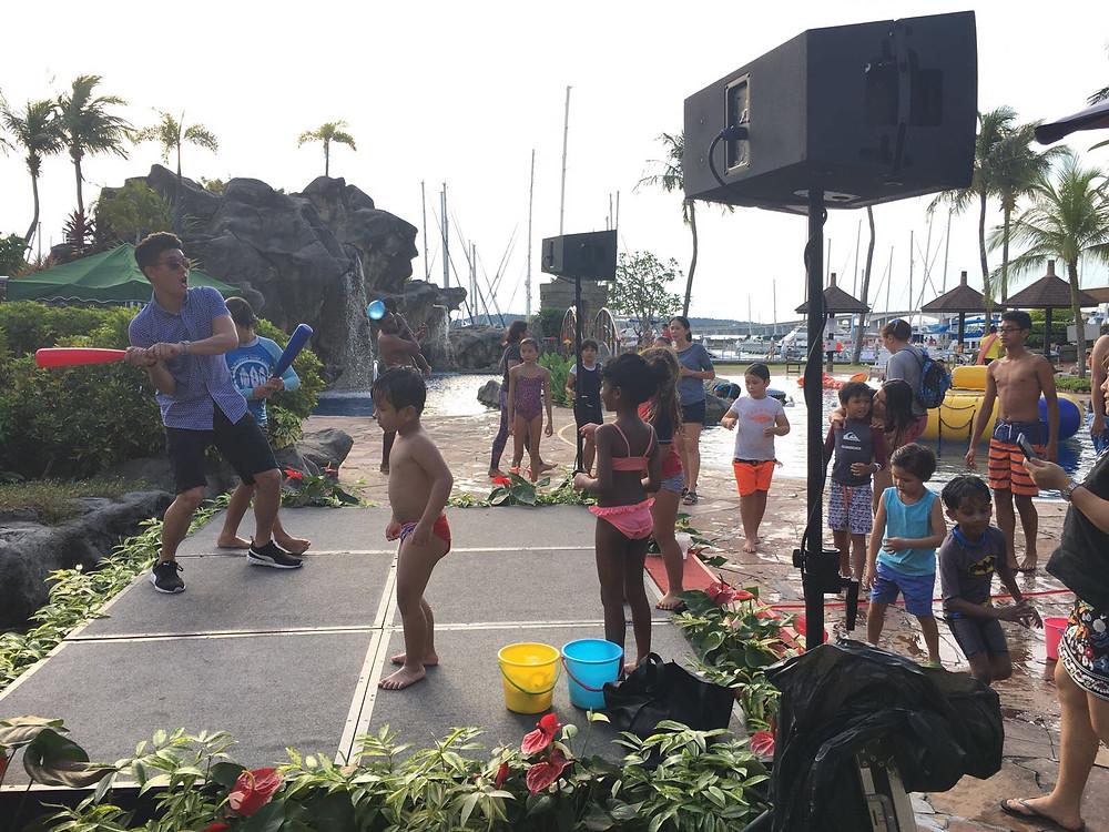 Emcee Singapore - Ainsley Chong, Raffles Marina 23rd Anniversary Water Carnival & Bazaar
