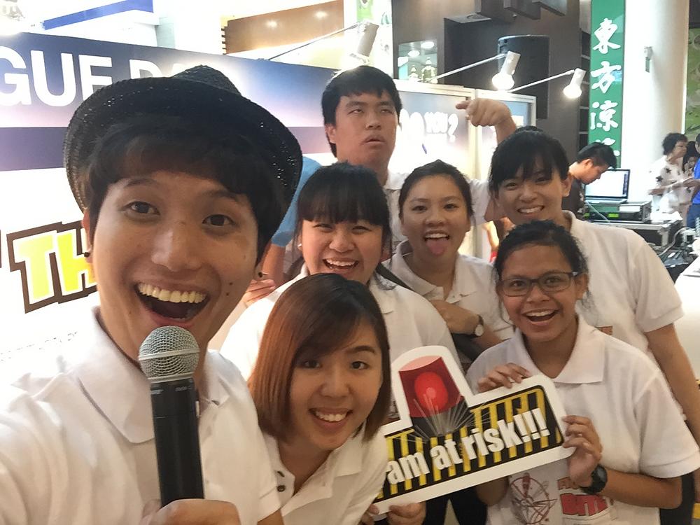Emcee Singapore - Ainsley Chong, ASEAN Dengue Day