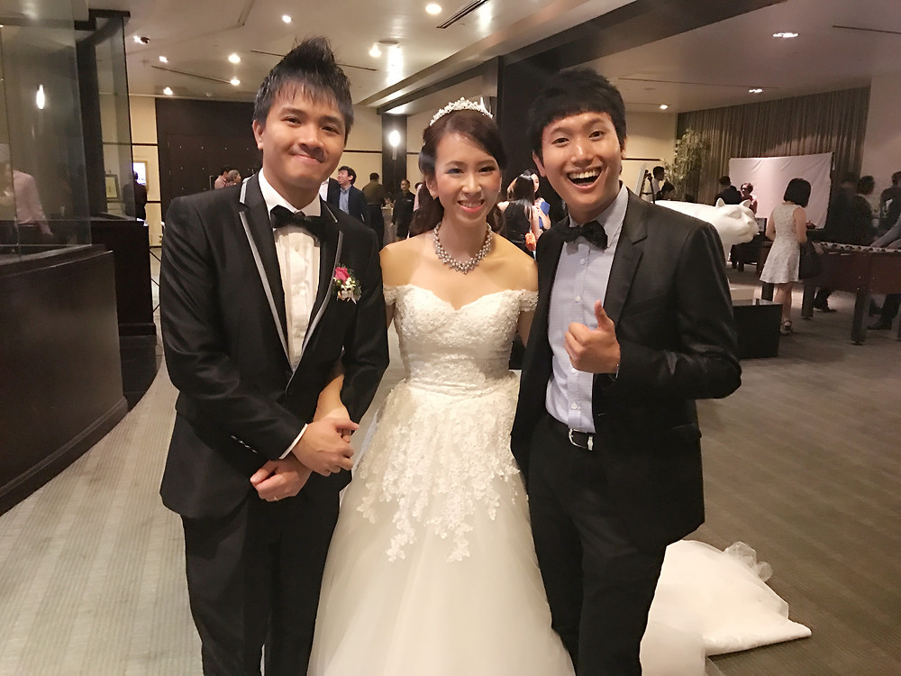 Emcee Singapore - Ainsley Chong, Wedding Dinner of Medwin Ong and Lemon Lee