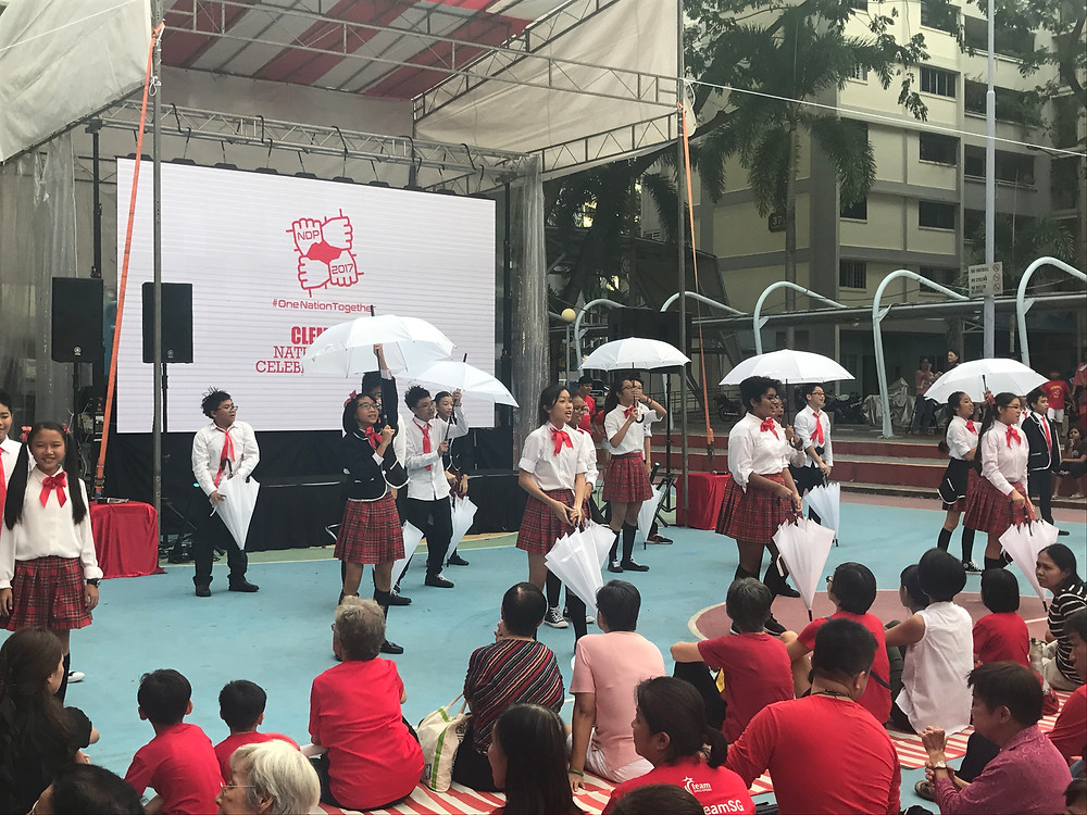 Emcee Singapore - Ainsley Chong, Clementi National Day Celebrations 2017