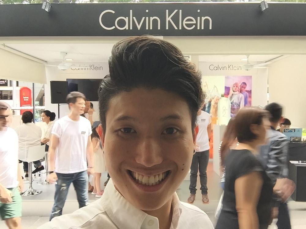 Emcee Singapore - Ainsley Chong, Calvin Klein Fragrance CK2 Roadshow