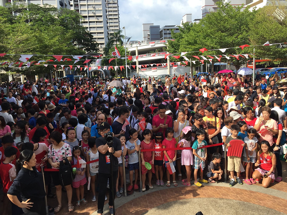 Emcee Singapore - Ainsley Chong, Joseph Schooling's Victory Parade 2