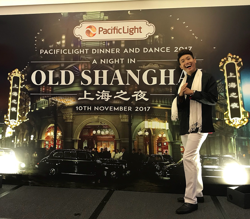 Emcee Singapore - Ainsley Chong, PacificLight Power Dinner & Dance 2017
