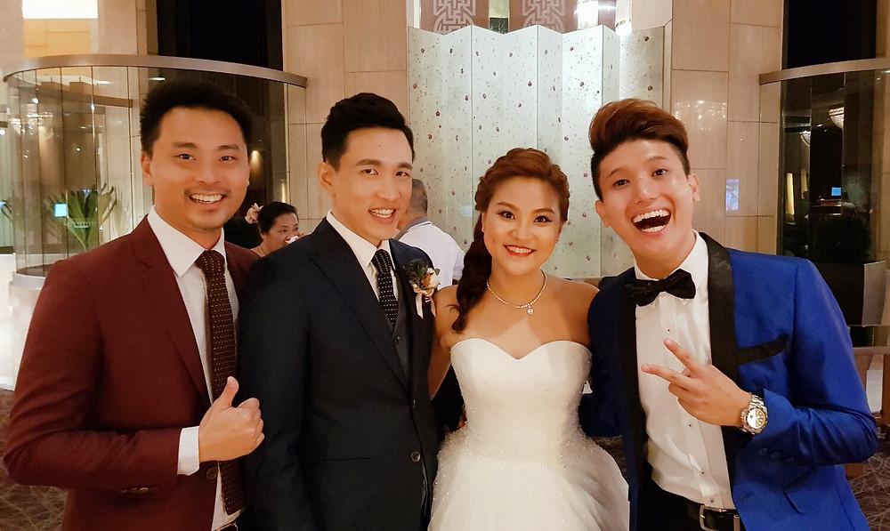 Emcee Singapore - Ainsley Chong, Wedding Dinner of Rennie Neo and Sheryl Chua