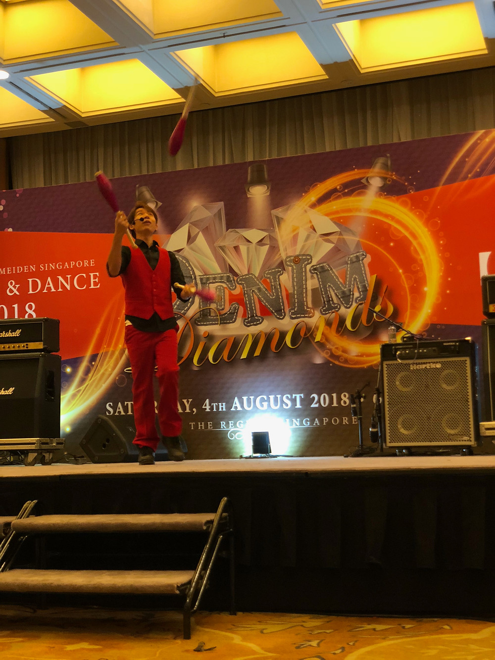 Emcee Singapore - Ainsley Chong, Meiden Asia Dinner & Dance 2018