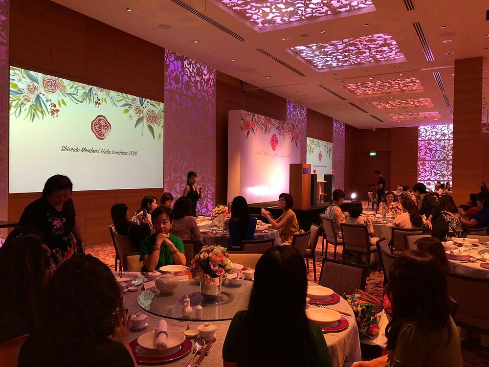 Emcee Singapore - Ainsley Chong, Shiseido Members' Gala Luncheon 2018
